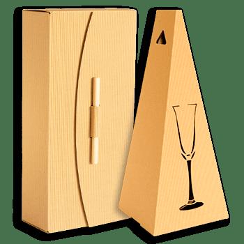 Opakowanie i pudełko na wino
