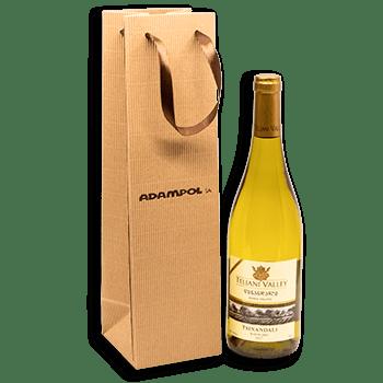 Opakowanie na wino z nadrukiem Adampol