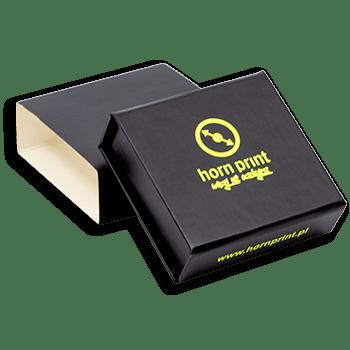 Pudełko na prezenty czarne małe