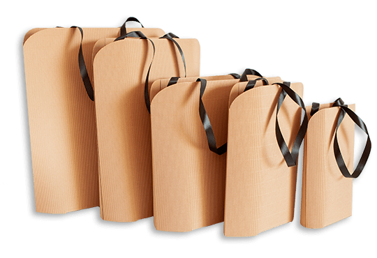 Torby papierowe tekturowe nowoczesne